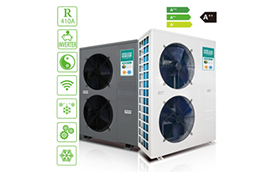 How does Air Source Heat Pump work in extreme cold conditions?