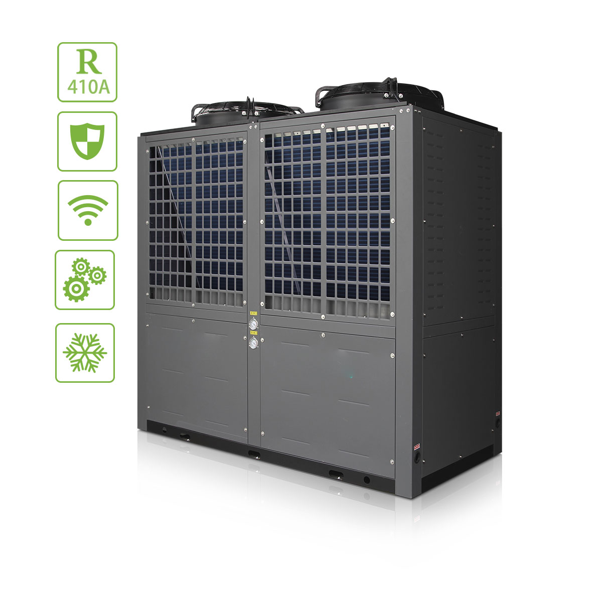 High Temperature with Electric Instant Hot Water Heat Pump