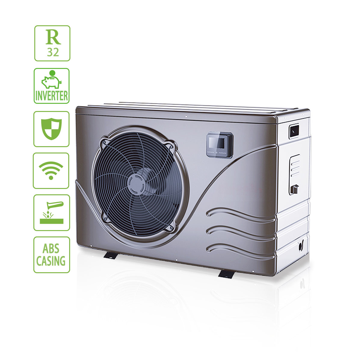 Low Energy Consumption Residential 14kw Swimming Pool Heat Pump