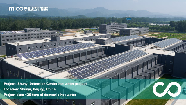Detention Center Hot Water Project