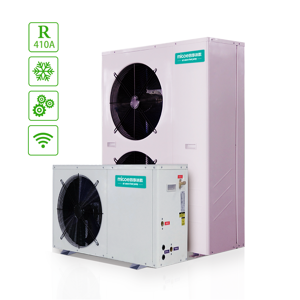 Residential Type Hot Water Heat Pump