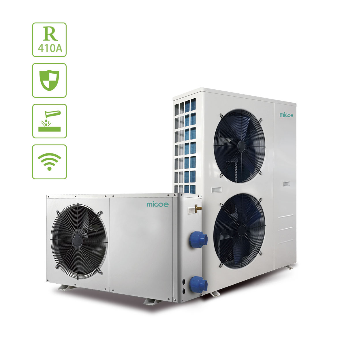 Residential Durable Eco Swimming Pool Heat Pump